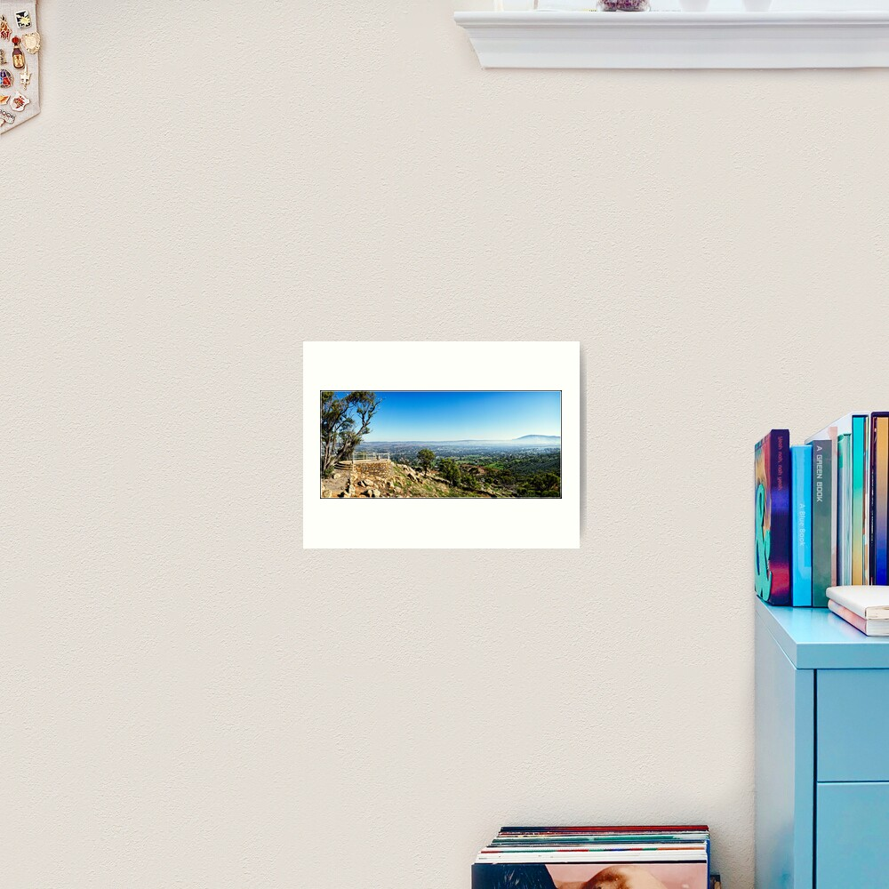 Looking Out Over York, Western Australia. Art Print