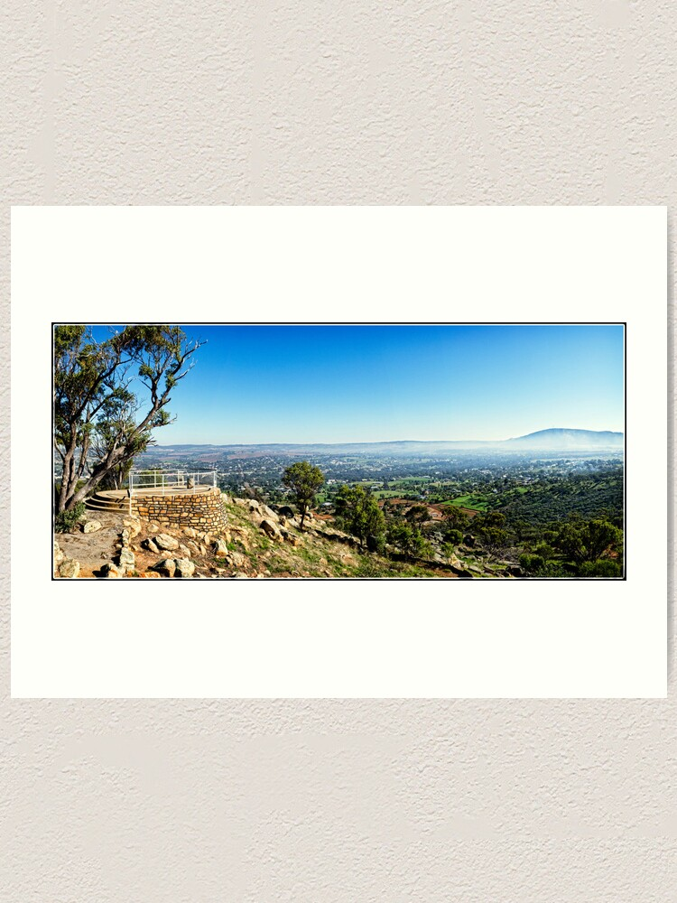 Alternate view of Looking Out Over York, Western Australia. Art Print