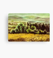 Acryl - Plein air Canvas Print