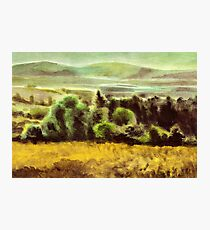 Acryl - Plein air Photographic Print