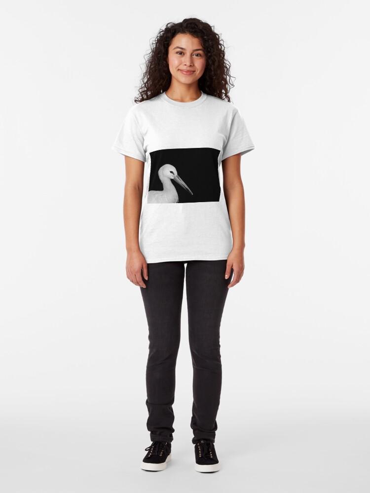 Alternate view of White Stork Classic T-Shirt