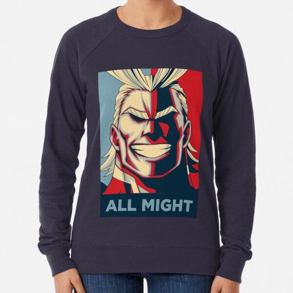 All Might Retro Lightweight Sweatshirt