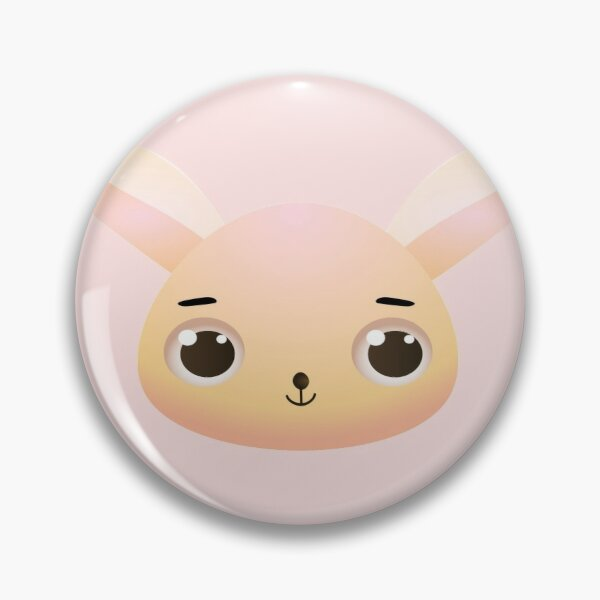 Cute Kawaii Cartoon Bunny Rabbit  Pin