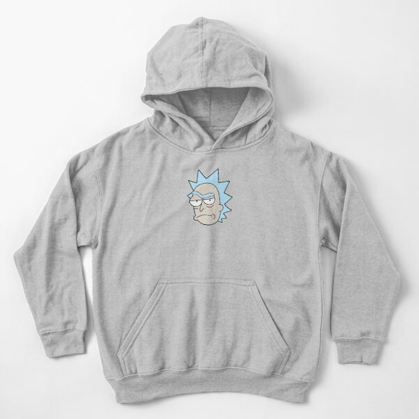 Rick Sanchez Confused face Kids Pullover Hoodie