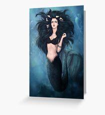Mermaid Grußkarte