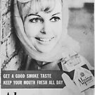 Retro Vintage Cigarette Advertisement by jamjarphotos