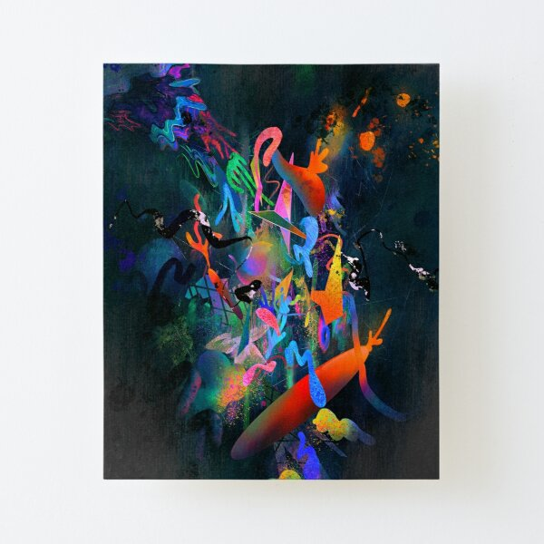Glow Canvas Mounted Print