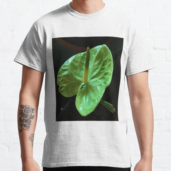 Green Lily flower Classic T-Shirt