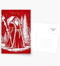Sankt Nikolaus Postkarten