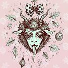 Merry Krampus!  by Brett Manning
