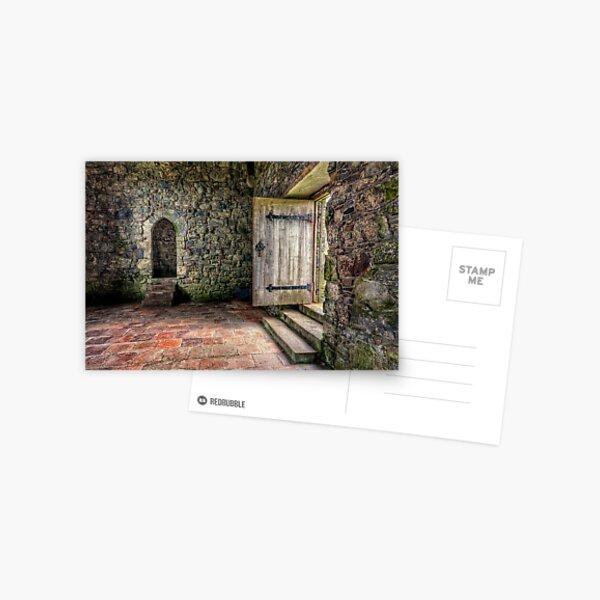 The Door to Rodel Church Postcard