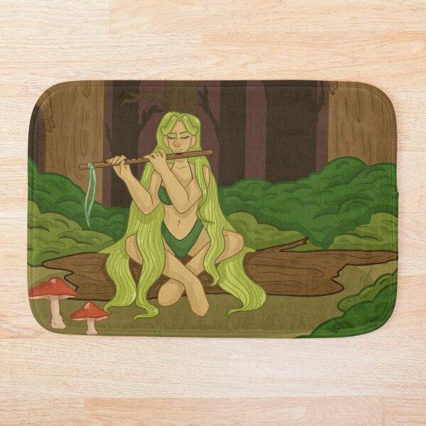 Forest Nymph Bath Mat