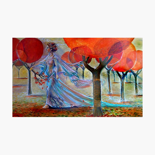 I Cant Remembering Autumn Photographic Print