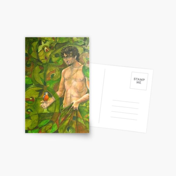 A Memory of Trees Postcard