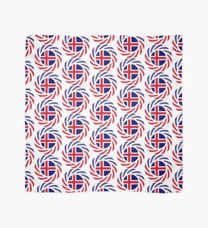 Icelandic American Multinational Patriot Flag Series Scarf