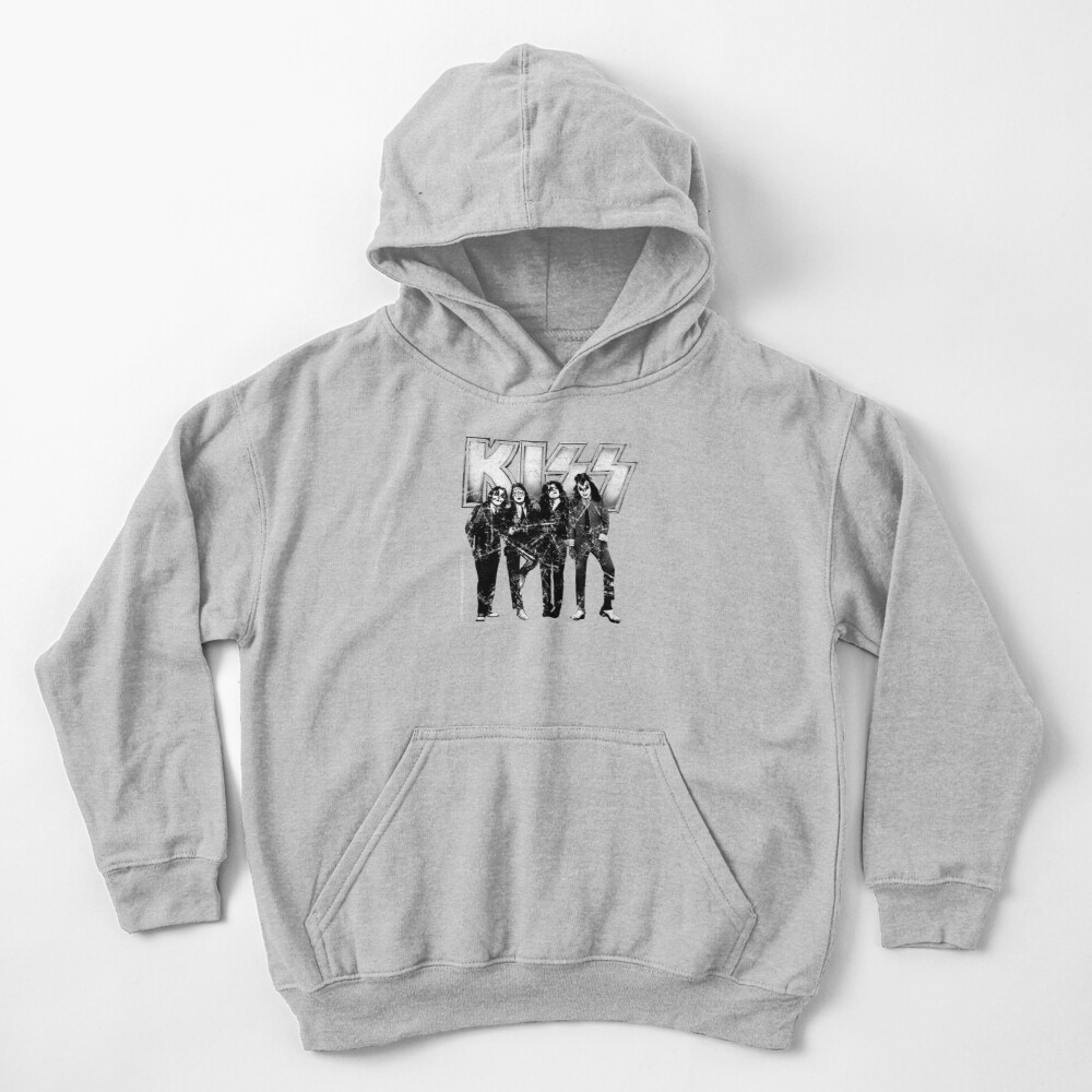 KISS the band Kids Pullover Hoodie