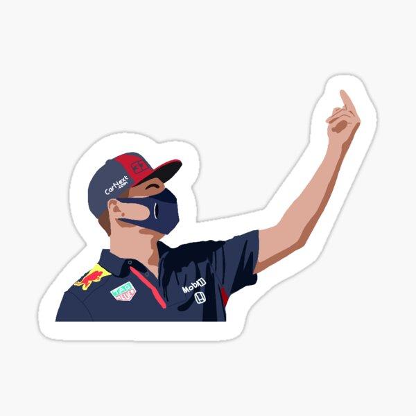 Max Verstappen at the 2020 British Grand Prix Sticker
