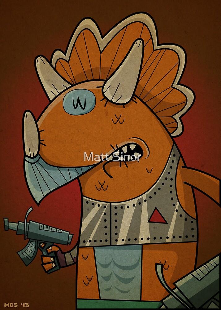 Triceraton by Matt Sinor
