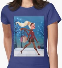 Tis The Season Womens Fitted T-Shirt