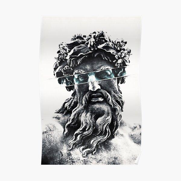 Zeus the king of gods Poster