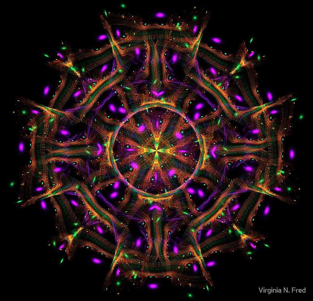 Silk Scarf by Virginia N. Fred