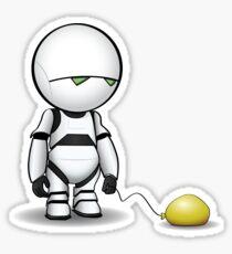 Marvin's Balloon Sticker