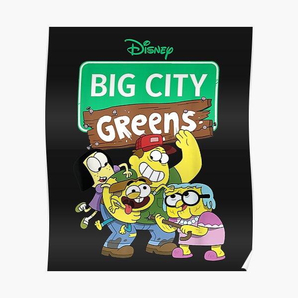 Disney Channel Big City Greens  Poster