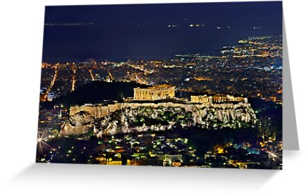 The Sacred Rock of the Acropolis by Hercules Milas