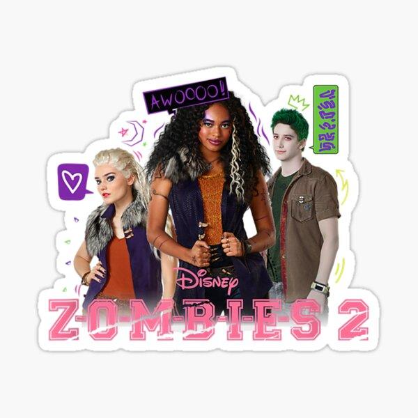 Disney Zombies 2 Zombie Crew  Sticker