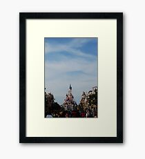 The Happiest Place On Earth Framed Print