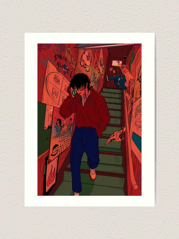 Alternate view of avatar: underground (Zuko, Aang) Art Print