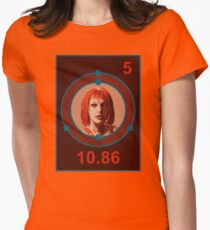 THE FIFTH ELEMENT Womens Fitted T-Shirt
