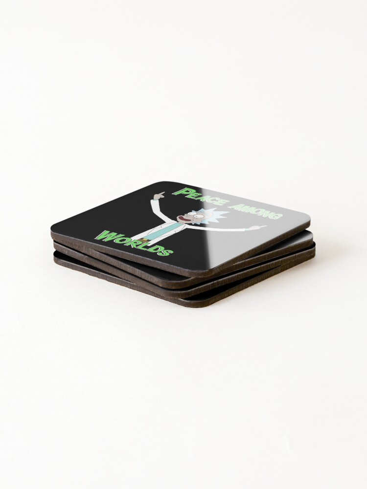 Alternate view of Peace Among Worlds! Coasters (Set of 4)