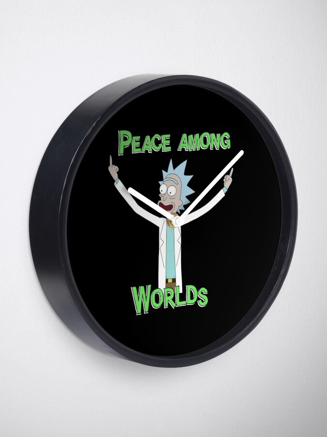 Alternate view of Peace Among Worlds! Clock