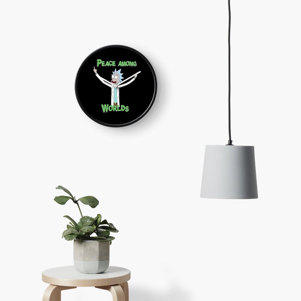 Peace Among Worlds! Clock