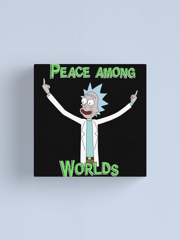 Alternate view of Peace Among Worlds! Canvas Print
