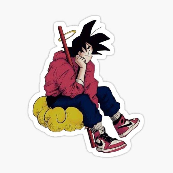 Gokuthinkingjordan Sticker