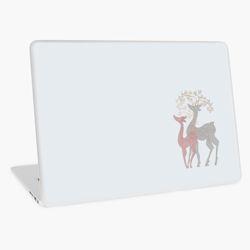 Couple of Deer Laptop Skin