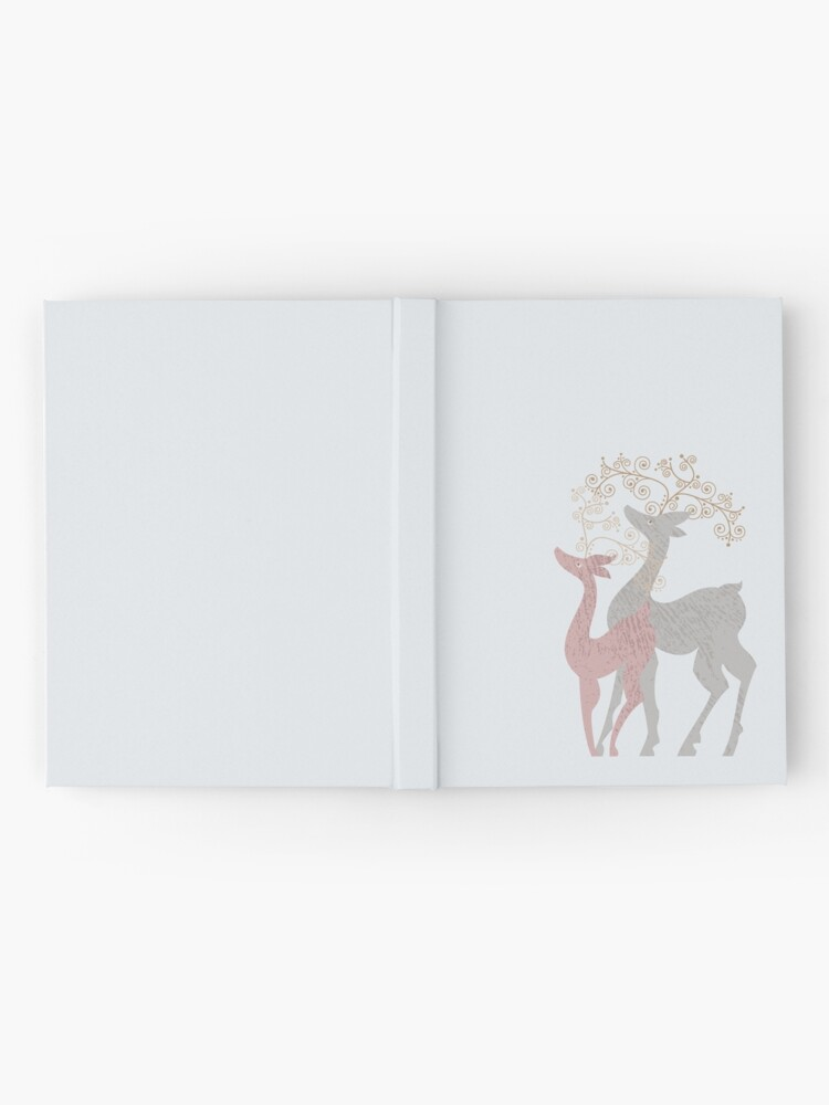 Alternate view of Couple of Deer Hardcover Journal