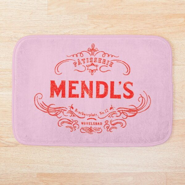 Mendl's Patisserie Bath Mat