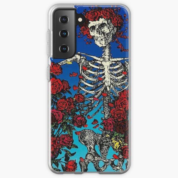 Skeleton Roses Samsung Galaxy Soft Case