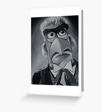 Sam Eagle, First Doctor Greeting Card