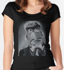 Sam Eagle, First Doctor Women's Fitted Scoop T-Shirt