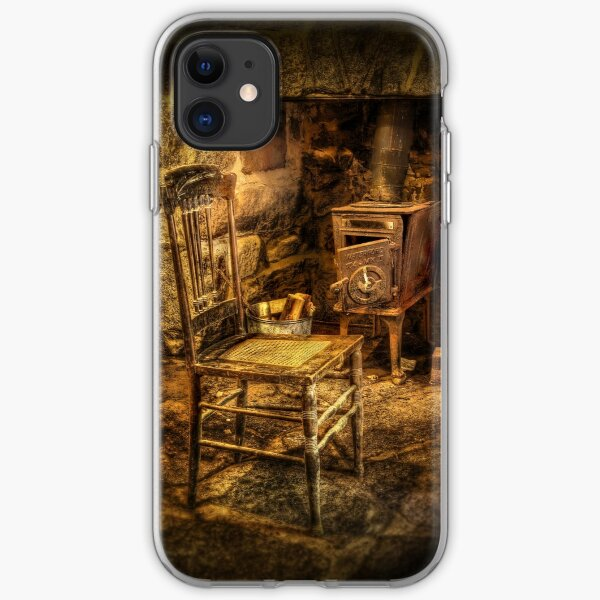 The chair and stove iPhone Soft Case