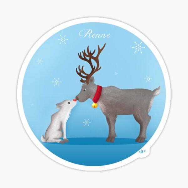 Renne - Reindeer Sticker