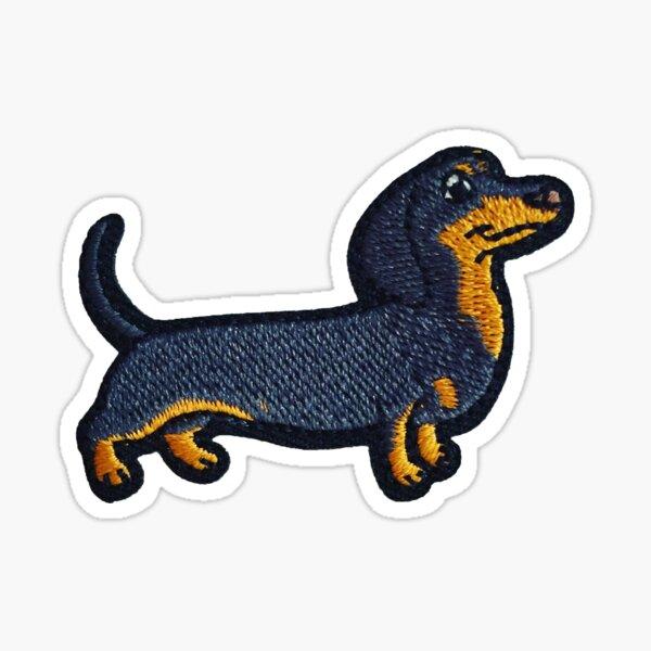 Dog Patch Sticker