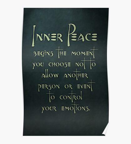 Inner Peace begins... Poster