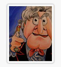Statler, Third Doctor Sticker