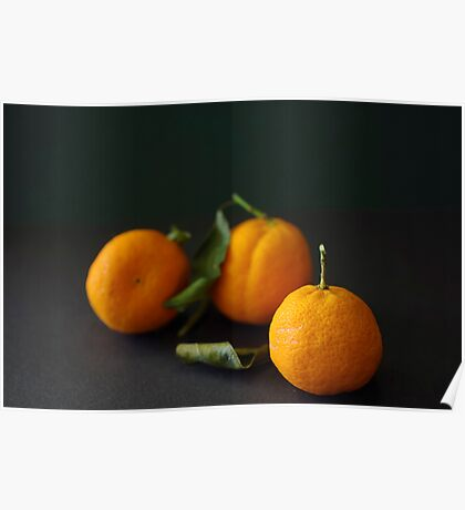 Three Mandarins Poster