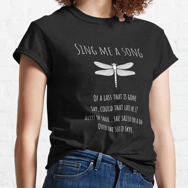 Sing Me A Song - fond sarcelle foncé T-shirt classique